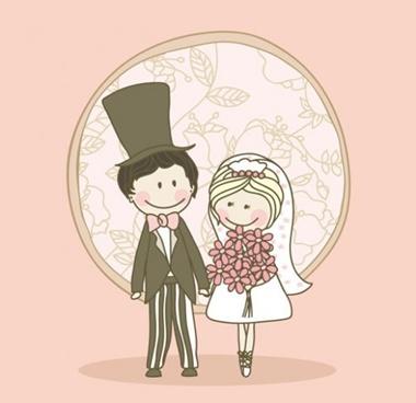 creative,design,download,graphic,illustrator,original,vector,web,wedding,unique,vectors,quality,bride,groom,stylish,fresh,hand drawn,high quality,bridal couple,wedding day vector