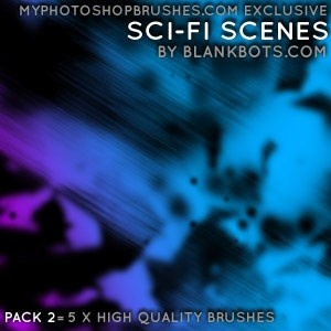 abstract brush
