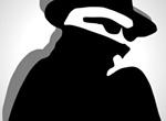 Detective Secret Agent Silhouette Avatar