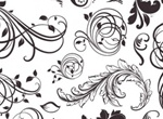 Decorative Floral Elements Vector Set
