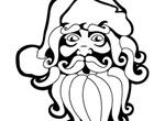 Santa Claus Vector Art Drawing