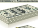 Stacks Of Hundred Dollar Bills Vector Graphics