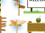 5 Vector Signpost Pack