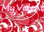 St. Valentine Swirls Glitters