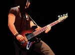 Vector Rock Bass Player