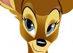 Cute Vector Deer Animal Cartoon Graphic