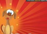 Cute Cartoon Dog Vector Graphic