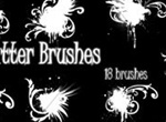 PS Splatter Brushes