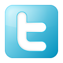 Blue, Box, Social, Twitter Icon