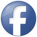 Blue, Button, Facebook, Social Icon