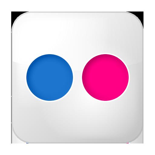 Box, Flickr, Social Icon