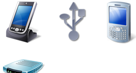Vista Style Hardware & Devices Icons
