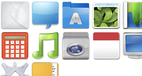 M8 Icons Set Icons