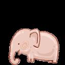Bin, Elephant, Empty, Recycle Icon
