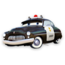 Cars, Sheriff Icon