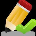 Edit, Validated Icon