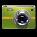 Camera, Green Icon
