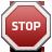 Signal, Stop Icon