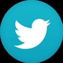 Circle, Flat, Twitter Icon