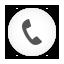 Dial, Phone, Round, White Icon