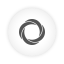 Googlecurrents, Round, White Icon