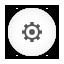 Options, Round, White Icon