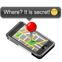 Apple, Iphone, Map Icon