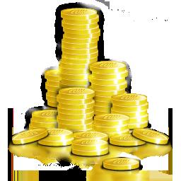 Cash, Coin, Money Icon