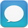 Blue, Message Icon