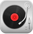 Music, Player, Record, Red Icon