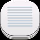 Flat, Notes, Round Icon