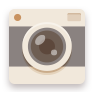 Brown, Camera, Flat Icon