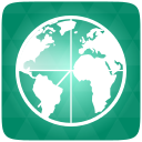 Green, Maps Icon