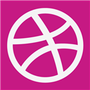 Dribble, Flat Icon