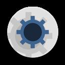 Round, Settings Icon