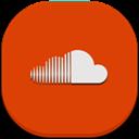 Flat, Mobile, Soundcloud Icon
