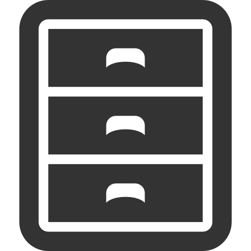 Cabinet, Filing Icon - Download Free Icons