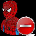 Delete, Spiderman Icon