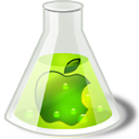 Apple, Lime Icon