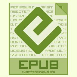 Epub, Icon Icon