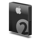 , Apple, Bay, Drive, Slim Icon
