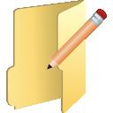 Edit, Folder Icon