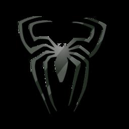 Black, Spider Icon
