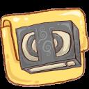 Folder, Hp, Video Icon