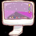 Computer, Hp Icon