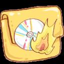 Burn, Folder, Hp Icon