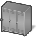 Dis, Locker Icon