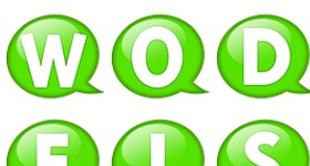 Speech Balloon Green Icons