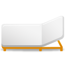 a, Bed, Rollaway Icon