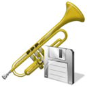 Save, Trumpet Icon